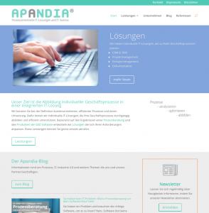 Screenshot Apandia.de