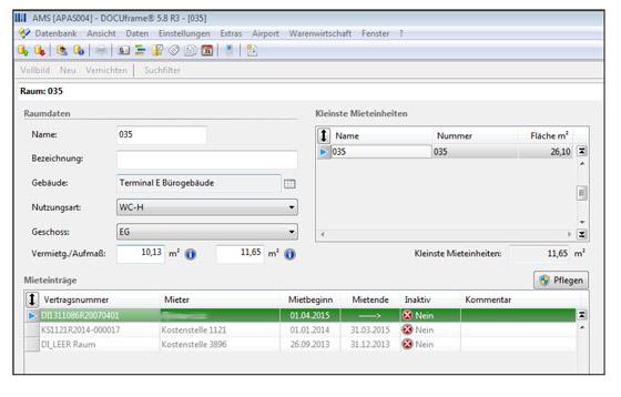 Screenshot Digitales Raumbuch APA-PRM
