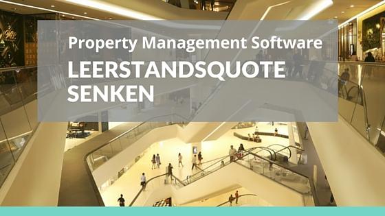 Bild: Einkaufszentrum Text: Property Management Software – Leerstandsquote senken