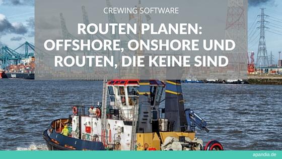 Crewing Software: Routen planen – offshore und onshore. Bild: Schlepper im Hafen