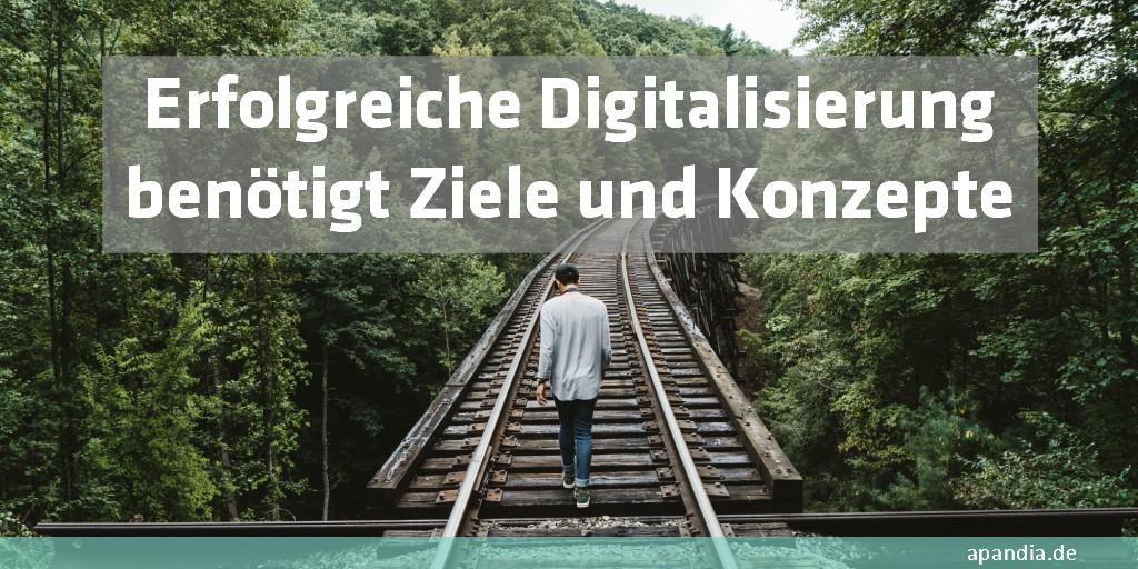 Wie können Konzepte zur Digitalisierung aussehen