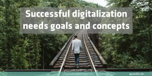 Successful digitalization