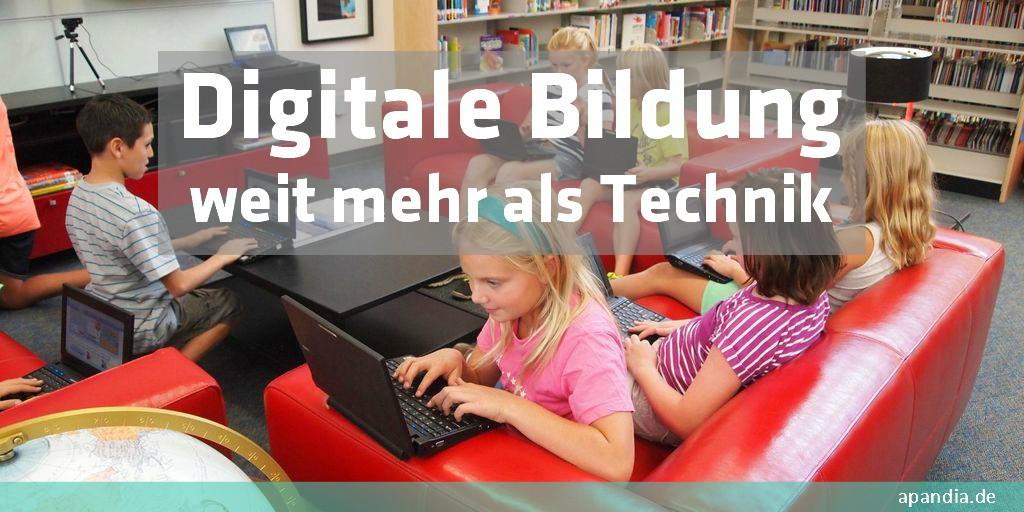 Digitale Bildung – Lernen für die Zukunft