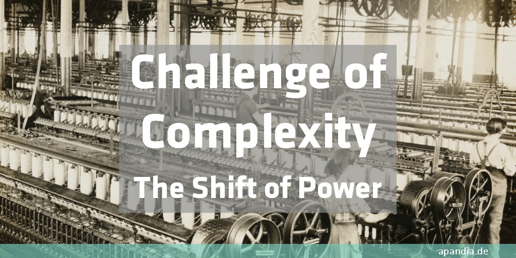 The challenge of digitalization is the complexity