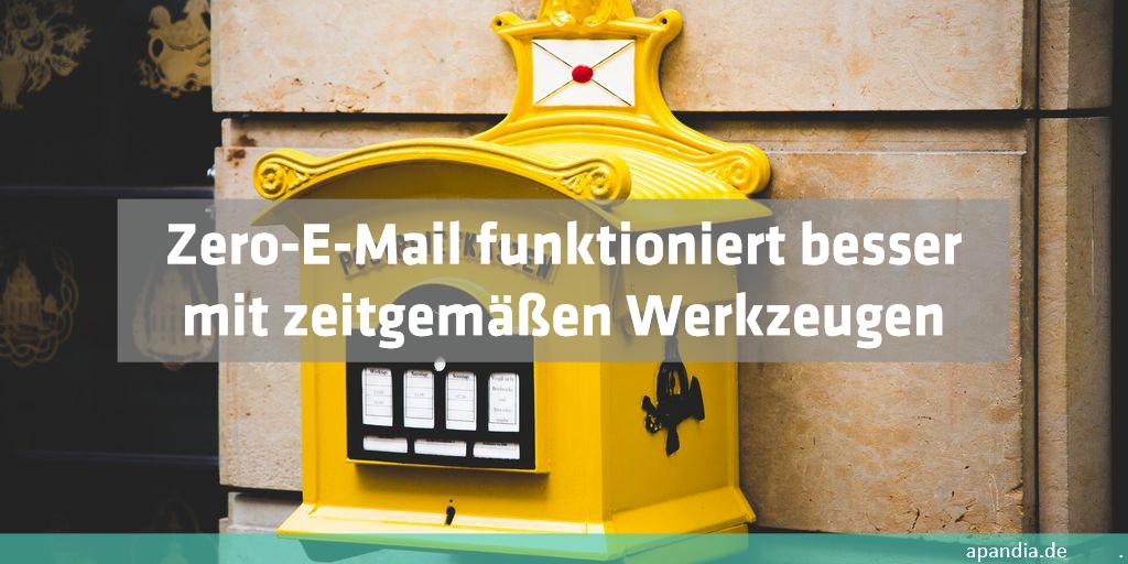 Zero-E-Mail entlastet und schafft Übersicht