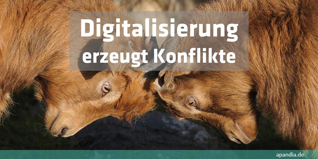 Digitalisierung versus Digitalisierung