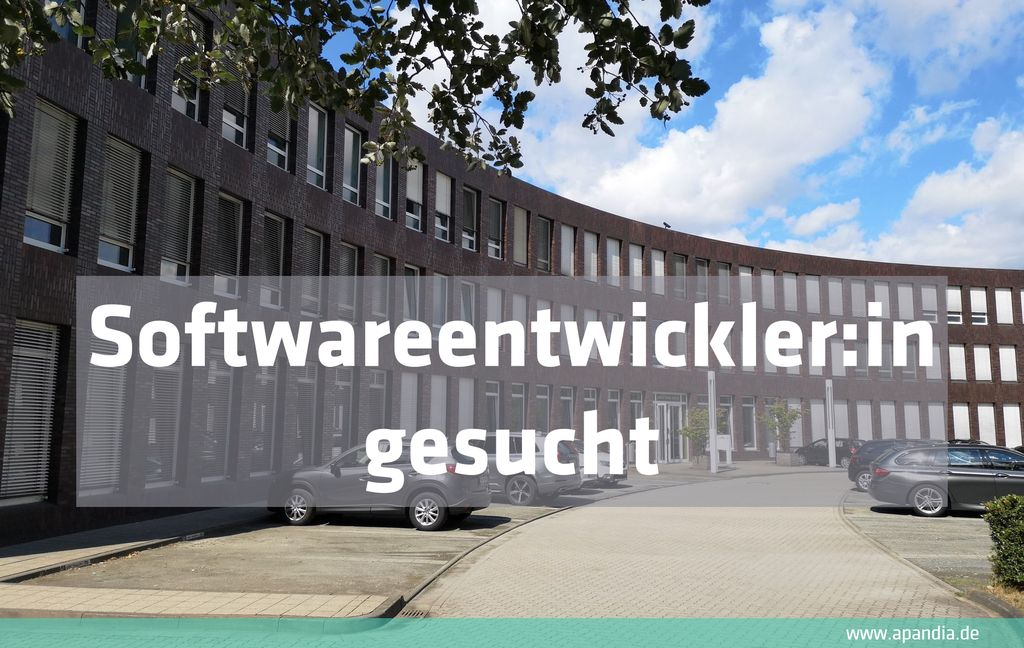 Softwareentwickler:in (m/w/d)